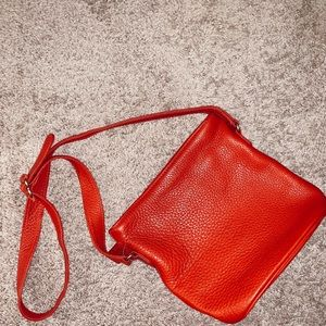 Coach Vintage Crossbody - Red